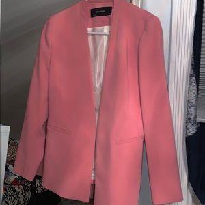 Zara Basic Pink Blazer